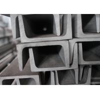 Buy cheap SS304 SS201 Channel Stainless Steel , Heat Resistant U Channel Steel product