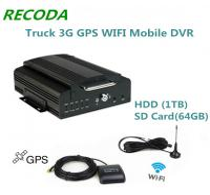 Buy cheap Поддержка 1TB Hdd тележки 3G Мобил DVR Wifi Mdvr жёсткого диска и карточка 64GB from wholesalers