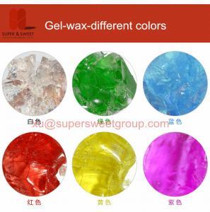 Buy cheap ゲルのワックスの蝋燭を作るための別の色のゲルのワックス product