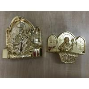 PP new material casket accessories corner coffin furniture corner22# gold silver Or Copper for sale