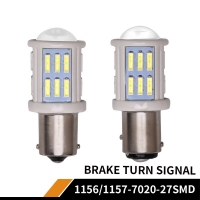 Buy cheap 27SMD 1156 S25 LED Tail Light Bulbs , 864lm Turn Signal Lights product