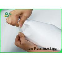Buy cheap 1070D White Color Tear Resistance Paper Environmental Material For Fashion Bags product