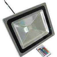 China Yellow RGB LED Flood Light IR Remote Light Transmission For Underground 3W on sale