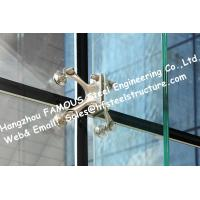 China Point Fixed Glass System Curtain Walls Cable Tensioned Façade Supporting Starglass System wholesale