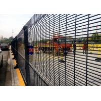 Buy cheap Plastic Coated 358 Wire Mesh Security Fencing For PRISON 900-2500mm Height product