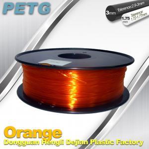 China RepRap , UP 3D Printer PETG 1.75 or 3mm filament Acid and Alkali Resistance on sale
