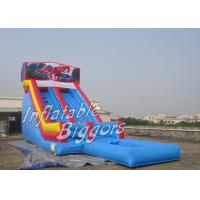 Buy cheap Huge Indoor Backyard Inflatable Water Slides For Kids With Water Pool product