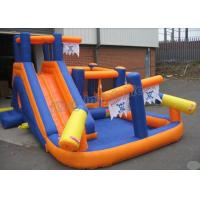 China Custom Outdoor PVC Inflatable Water Slide Spray Pirate Theme Park For Kids on sale