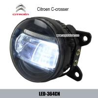 Citroen C-crosser front fog lamp assembly LED daytime running lights DRL LED-364CN