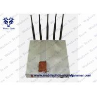 Buy cheap 5 Band Remote Control Jammer Cellphone Lojack GPS Signal Jammer from wholesalers