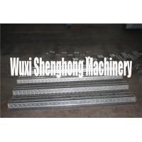 China GI Steel Metal Deck Roll Forming Machine With Movable Control Box on sale