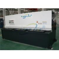 Buy cheap Swing Beam Hydraulic Shearing Machine Firm Steel Plate Welded Construction product