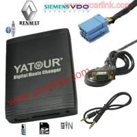 Renault 98-2008 VDO USB SD AUX MP3 Interface Adapter (Car Digital CD Changer