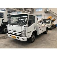 Buy cheap Standard Emission Road Wrecker Truck , Isuzu Truck Wreckers For Highway from wholesalers