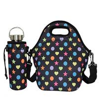Buy cheap High level outdoor picnic insulated neoprene lunch tote with water bottle cover.Size:30cm*30cm*16cm product