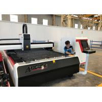 Buy cheap IPG Source CNC Laser Cutter Machines , Flatbed Laser Cutting Machine For Sheet Metal product