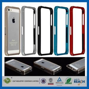 Buy cheap Métal en aluminium Glissière-Sur la couverture de butoir de cas de téléphone portable d'Apple de cadre pour Iphone 5 product
