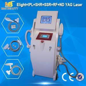 Buy cheap Machine de laser de machine d'épilation du chargement initial rf d'E-lumière de salon/de ND Yag chargement initial rf d'Elight product