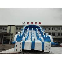 China Giant Inflatable Water Slides For Swimming Pool , Adult Inflatable Water Park Slide on sale