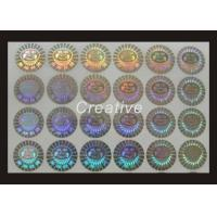 Buy cheap Customized 3D Hologram Sticker , Anti - Theft Hologram Security Stickers product