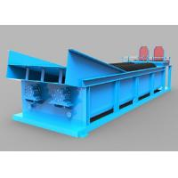 China Blue Light Double Spiral Sand Washing Equipment 20-150 Tons Per Hour Water Consumption on sale