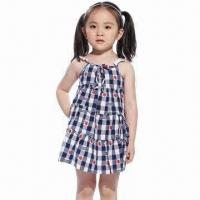 China Dress for Girls of 7 year old/dress design kids/babies' girls' party dress, OEM/ODM orders Welcome on sale
