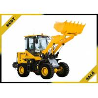 China 2000kg Front Loader Tractor Steering Priority , Front Head Loader Unloading Hydraulic System on sale