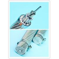 China Professional Galvanized Steel Guy Wire , Overhead Line Fittings Stranded Steel Cable on sale
