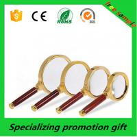 Buy cheap Custom Wooden Handle 2x / 5x Magnifying Glass For Promotional Gift product