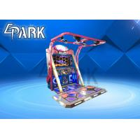 Buy cheap Commercial Dance Hero Arcade Dance Machine Easy Operated With Flash Light from wholesalers