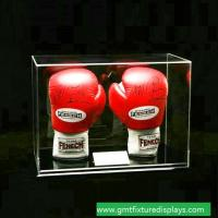 Buy cheap Clear Acrylic Lucite Boxing Glove Display Case, Perspex Boxing Glove Show Box with Lid product