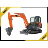 China 5760mm Long Reach Excavator 4 Cylinder , 38kw Compact Mini Excavator No Need Crane To Dismantle on sale