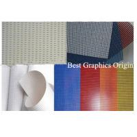 China High Strength PVC Coated Mesh With 250dx250d Mesh Material For Outdoor Chairs  on sale