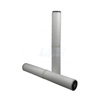 Buy cheap DOE Thread ID 33mm 20'' 30'' Pleated Carbon Block Filter Cartridge product