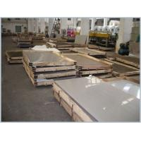 Buy cheap 301 321 430 or 904l  8K 0.3 - 50mm Thickness stainless steel sheet with custom  product