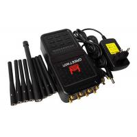 China 5.8 G High Power Mobile Phone Jammer , ABS Shell RF Frequency Jammer Up To 20m on sale