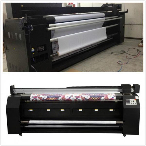 Digital Inkjet Printing : Dye sub inkjet printer digital textile printing machine