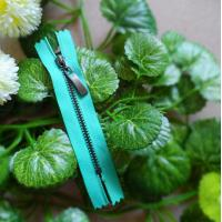 Buy cheap Green Brass Teeth #5 Closed End Zipper Eco-Friendly With Auto Lock Slider product