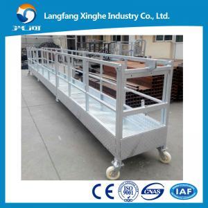 クリーニング装置ZLP800/scaffoldingのプラットホーム/造るガラス・クリーニング機械