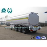 Buy cheap 42000 Liters Fuel Tank Semi Trailer Super Single Tyre With Mechanical Suspension product