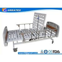 Buy cheap 5 Function Adjustable ICU Hospital Beds With 10-part Bedboard , Al-alloy Side Rails (GT-BE1004) from wholesalers