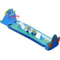 Buy cheap Commercial Toddle Inflatable Water Slide With Splash Pool 1000*400*800cm product