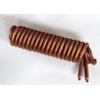 China Integral Copper / Cupronickel Condenser Coils as Heat Exchanger in Automotive and Machinery wholesale