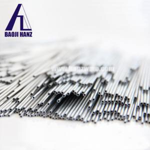 China Tantalum capillary tube pipe from baoji Hanz for tantalum capacitor use on sale