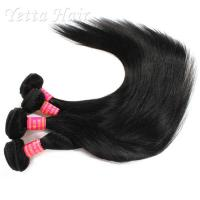 China Malaysian Straight 6A Virgin  Hair extensions No tangling No shedding on sale