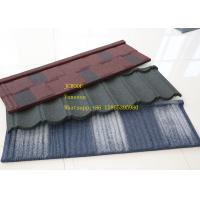 Buy cheap ISO9001 Zinc Corrugated Roofing Sheet Green Color  Bond Tile , zincalume roof sheeting product