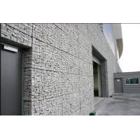 Buy cheap Silver Wire Gabion Baskets , Gabion Wall Cages For Rock Retaining Walls from wholesalers
