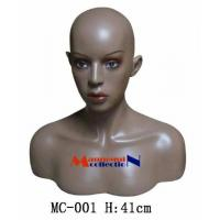 China Female Realistic Mannequin Head & Bust on sale