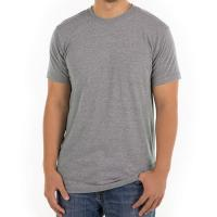 Buy cheap Grey Men Blank 100% Cotton T Shirt Design Round Neck Digital 3d T-Shirt Printing product