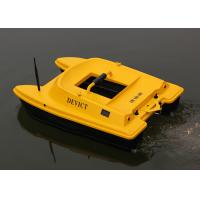 Buy cheap DEVC-303 RC Fishing Bait Boat , Orange deliverance bait boat 2.4GHz Remote Frequency product